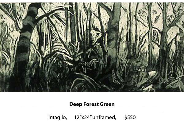 Deep Forest Green